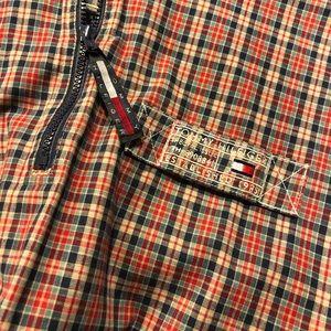 Tommy Hilfiger Ladies Tartan Water Resistant Coat